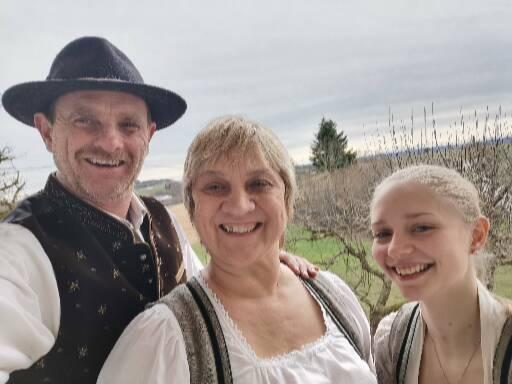 Familie Drexler – Franz, Claudia und Sandra Drexler