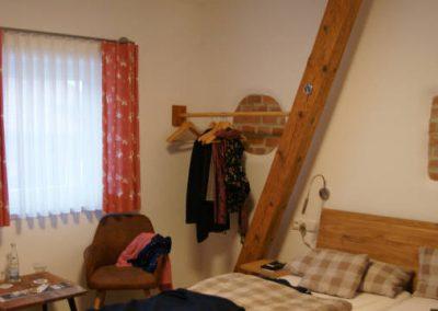 Ferienzimmer des Gasthofs zum Bergerwirt Buchbach
