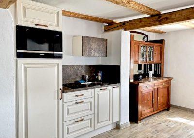Küche der Ferienunterkunft, Gasthof zum Bergerwirt Buchbach